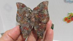 Orgonite borboleta força superação