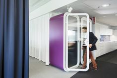 Framery phone booths mix Finnish design and engineering
