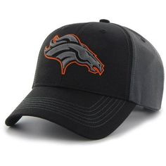 NFL Denver Broncos Mass Blackball Cap - Fan Favorite, Black