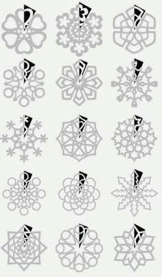 ЗАЗЕРКАЛЬЕ: Вдохновение. Вырезаем снежинки!