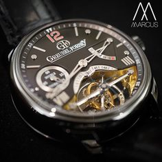 The double tourbillon Greubel Forsey Vision, showing off their first invention.