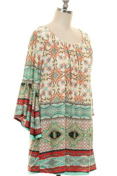 Mint to Be Tunic from Paisley Grace Boutique