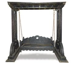 Indian style OLD Wooden BABY SWING , Indian Cradle, Julla