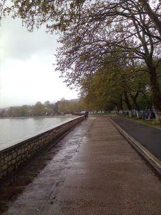 Λίμνη Ιωαννίνων Sidewalk, Country Roads, Side Walkway, Walkway, Walkways, Pavement
