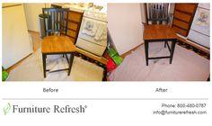 Dining Chair: Broken frame