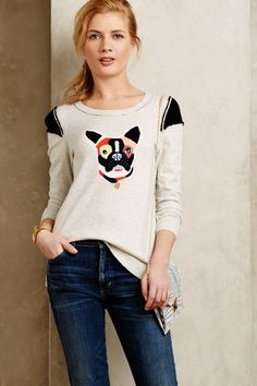 Frenchie Pullover - anthropologie.com #anthroregistry