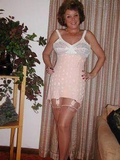 Something Grannies girdles stockings consider, that