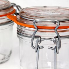 Kilner Style Clip Storage Preserve Jar Fido Italy x 2200ml