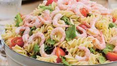 Pastasalat med reker og ostesaus Breakfast Enchiladas, Norwegian Food, Recipe Boards, Pasta Salad, Italian Recipes, Tapas, Seafood, Snack Recipes, Food And Drink