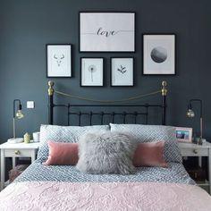 Medium size of bedroom romantic white bedroom decorate my bedroom romantic master bedroom colors bedroom paint Couple Bedroom, Small Room Bedroom, Home Decor Bedroom, Diy Bedroom, Bed Room, Master Bedrooms, Grey Wall Bedroom, Trendy Bedroom, Bedroom 2018