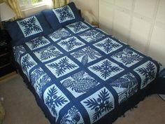 Hawaiian quilt blocks