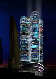 """Mixed use high-rise building in """"Moscow-city"""", plot 15"""