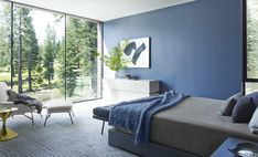 20 Blue Rooms - Blue Home Design Ideas There are so many shades of blue, how can you choose just one? #homedecor #design #blue