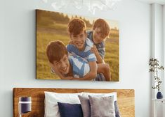 As I sat down in my home office this morning, sunlight streamed through the window and landed on a hanging canvas prints of my sons. They were around 5, 3, and 1, holding hands at dusk with colorful fireworks lighting the night sky behind them. As I waited for my computer to boot up, I sipped my cold brew and let myself bask in that sweet memory. You see, those same boys are nearly all grown up now. Two are in college, and we have just one left at home. Older people would warn me how fast the ti Home Based Business Opportunities, Business Tips, Own Your Own Business, Show Me The Money, Hanging Canvas, Large Canvas Prints, Sweet Memories, Cold Brew, Blog Tips