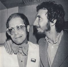 Elton John and Pete Townshend