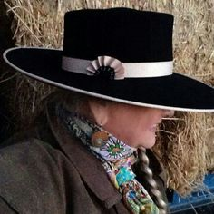 Gorgeous hat by Montana Hat Company