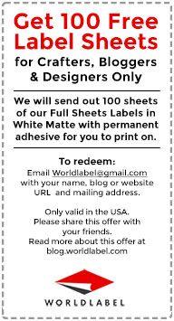 Free Printable labels Gallery | Worldlabel Blog