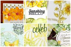 Sun-shiny inspiration at StampNation with Penny Black!  http://catherinepooler.com/2014/05/stuff-look-forward/ www.thestampnation.com
