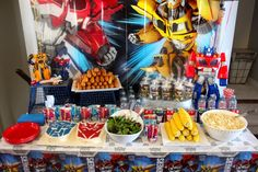 Transformers Birthday Party - Amidst the Chaos