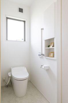 """女性目線の""""あったらいいな""""を叶える住まいMOTENA[瑞樹モデル] コーワの家写真集 注文住宅 石川県金沢市 Home, Decor, Bathroom, Toilet"""