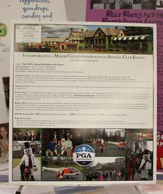 One well executed event can benefit your entire club. Our 2012  Breakfast with Santa event did just that. By incorporating the PGA of  America and a new idea (flying  Santa to the club in a helicopter) to  an already popular event, we were able to create new buzz and  excitement for our event and the PGA Championship.