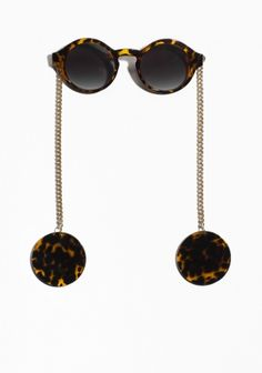 & Other Stories | Chain Temple Shades