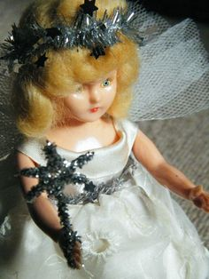 Vintage Fairy Angel Doll - Very Cute - Retro / Kitsch Christmas Decoration | eBay