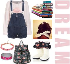 """""""{ { D R E A M } }"""" by iloveyoutothemoonandback ❤ liked on Polyvore"""
