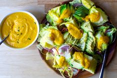 avocado salad with carrot-ginger dressing – smitten kitchen