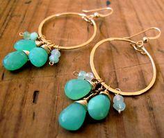 Mermaid Hoops are my favorite earrings this summer!