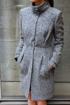 Would love to try and design a pattern to replicate this coat.