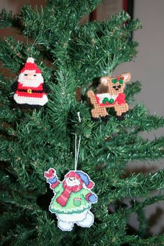 Wonderful Kids Room Christmas Decorations On Budget : DIY Snowman Santa Claus and Dog Shaped Christmas Ornament for Kids Christmas Tree Deco...