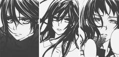 Vampire Knight - Yuri, Yuki and Ai ♡ Vampire Knight, Vampire Hunter, Best Love Stories, Beautiful Love Stories, Otaku Anime, Manga Anime, Yuki And Zero, Matsuri Hino, Yuki Kuran