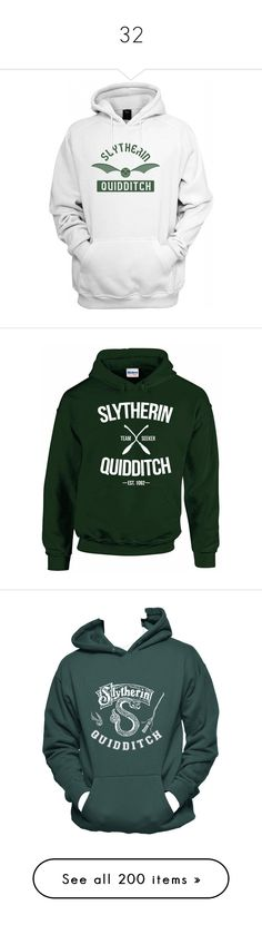 Designer Clothes, Shoes & Bags for Women Hogwarts Sweatshirt, Slytherin Pride, Harry Potter Hoodie, Harry Potter Outfits, Harry Potter Love, Hooded Sweatshirts, Hoodies, Fandoms, Slytherin