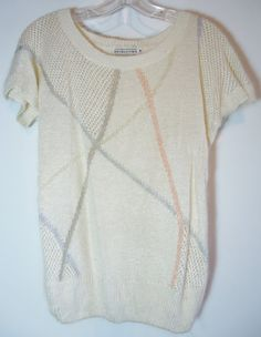 Short Sleeve Pale Pastel Geometric Lines by POPWILDLIFE on Etsy, $14.00