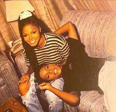 """Janet Jackson and Mc Lyte in set of """"You Want This"""" Janet Jackson 90s, Michael Jackson, 90s Aesthetic, Black Girl Aesthetic, Mc Lyte, 90s Inspired Outfits, Vintage Black Glamour, The Jacksons, Anos 60"""