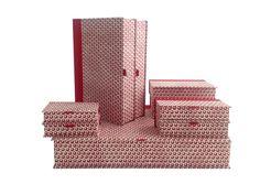Scatola a libro con carta Grafiche Tassotti Stella lucente cod. 717. - cm. 37,5x 27x 6,5 cod. BX16. - cm. 25,5x 18x 5 cod. BX17. -    cm. 17x 12x 4 cod. BX18. - cm. 15,5x 7x 3 cod. BX19. - cm. 11,5x 7,5x 2,5 cod. BX20