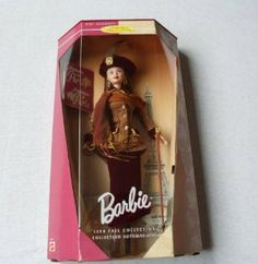 Barbie 1998 Fall Collections - Autumn in Paris Barbie Doll By Mattel by Mattel. $31.50. Autumn in Paris Barbie by Mattel. 1998 Collector's Edition. City Seasons Collection. Barbie loves Paris in the fall! The air is crisp and the city bustles with energy as Parisians return from vacation. Whether walking along the Champs-Elysee with its elegant restaurants and hotels, sipping cappuccino in her favorite cafe, or shopping, Barbie is right in step with the season in her stylish...