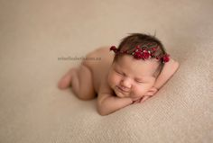 Татум, 6 дней. Фотограф Эрин Элизабет специализируется на съемках новорожденных.