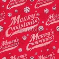 Vector: Seamless vector background - Christmas wrapping paper
