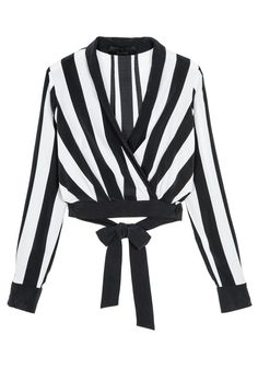 Pin for Later: Kendall and Kylie Jenner Release 9 Exclusive Items For Their Clothing Line  Stripe Low V Top ($245)