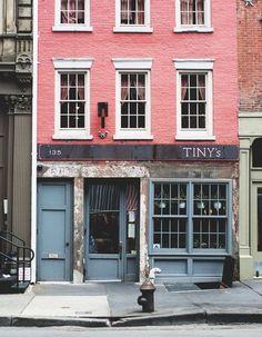 Tiny's Restaurant, Tribeca, NYC