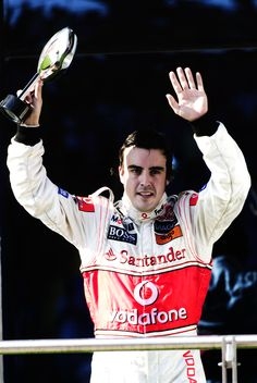Fernando at McLaren 2007