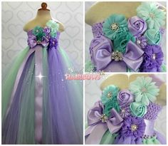 Mint and Lavender Flower girl dress- Mint and Lavender flower girl dress-Mint and Lavender flower girl dress by GlitterMeBaby on Etsy https://www.etsy.com/listing/197155545/mint-and-lavender-flower-girl-dress-mint