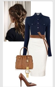 Smart Work Outfits  #Fashion #Trusper #Tip