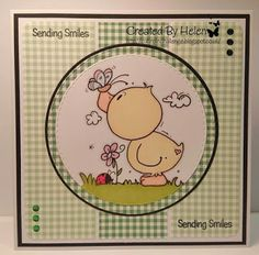 Using 'Spring Duck 1' from Bugaboo Stamps