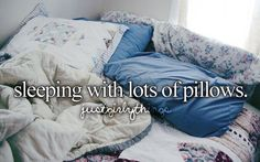 am i the only one who loves lots of pillows?