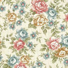 """Floral Classic"" azul"