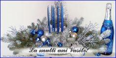 An Nou Fericit, Hanukkah, Wreaths, Decor, Decoration, Door Wreaths, Deco Mesh Wreaths, Decorating, Floral Arrangements