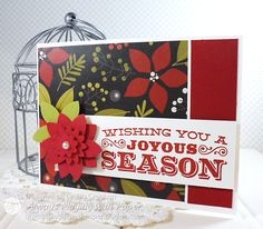 Always Playing with Paper: CASE this Sketch {Joyous Season}
